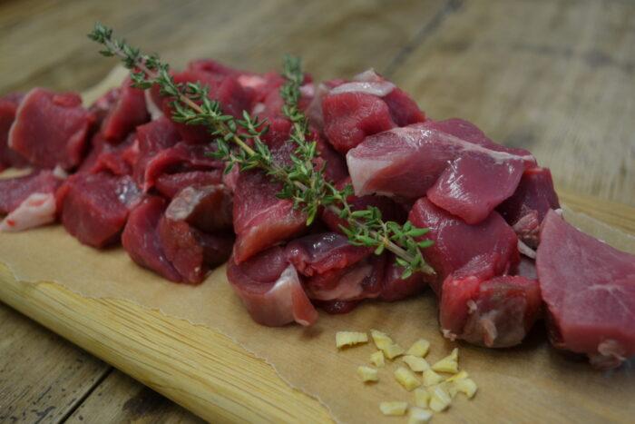Organic Diced Lamb