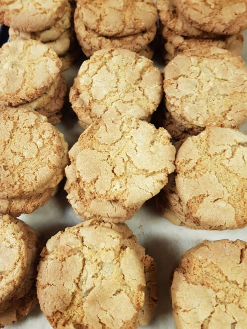 Organic Ginger Biscuits