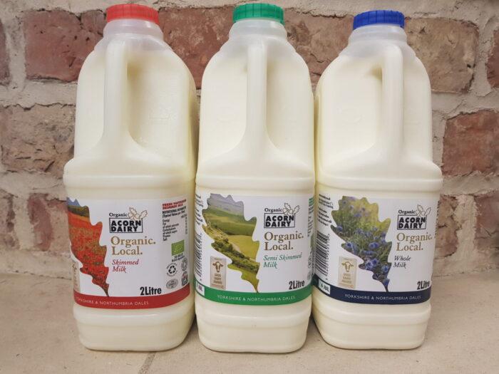 Acorn Dairy Organic Milk