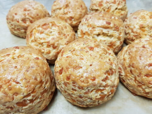 Organic Cheese Scone