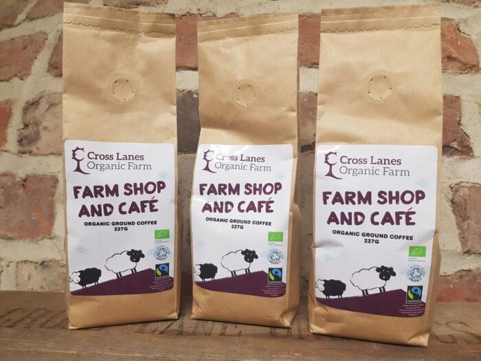 Cross Lanes Organic Ground Coffee