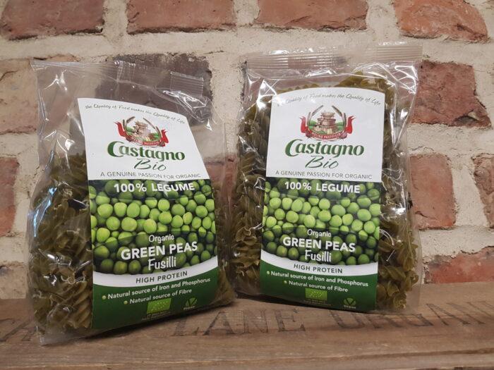 Castagno Organic Green Pea Fusilli
