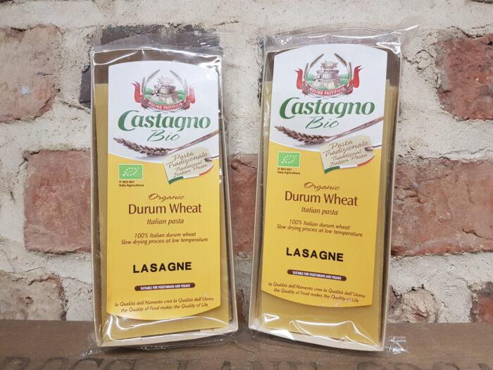 Castagno Organic Durham Wheat Lasagne