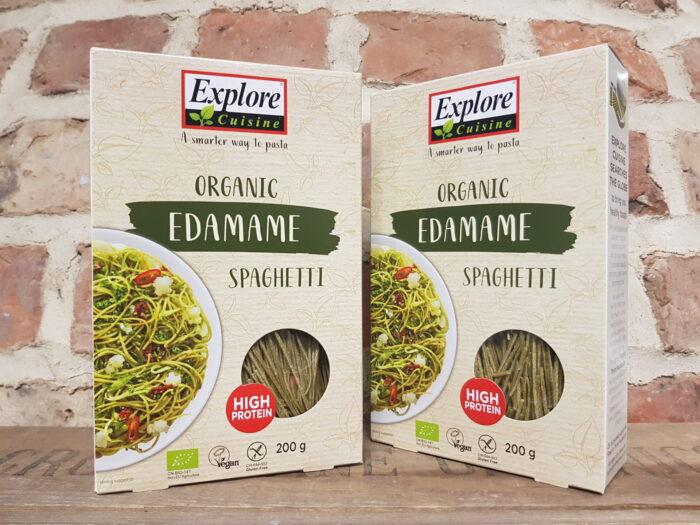 Organic Edamame Spaghetti