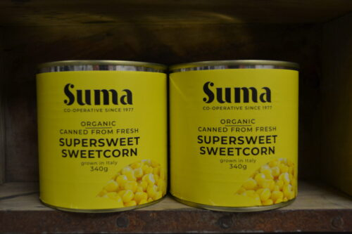 Suma Organic Supersweet Sweetcorn