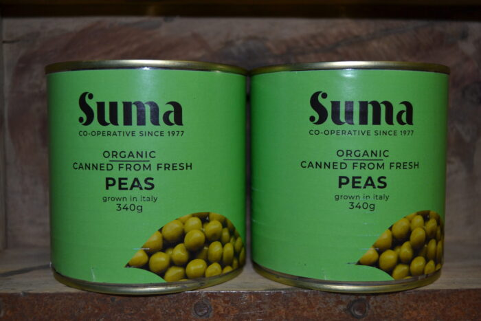 Suma Organic Canned Peas