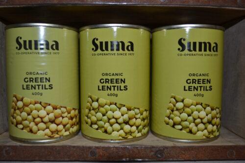 Suma Organic Green Lentils