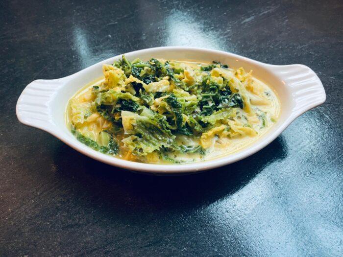 Organic Creamy Savoy Cabbage