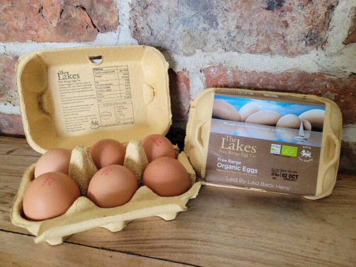 The Lakes Free Range Organic Eggs