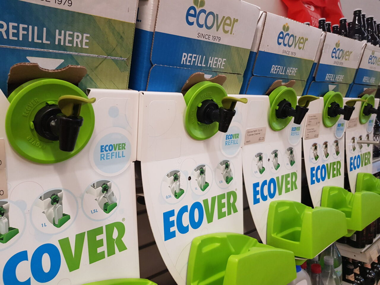 Ecover Refill Station