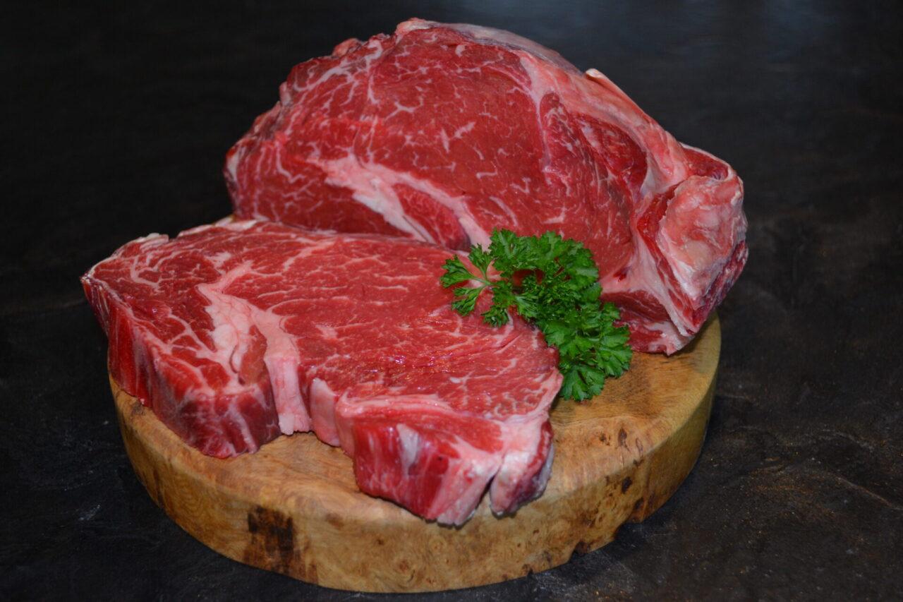 Organic Beef Rib Eye Steak
