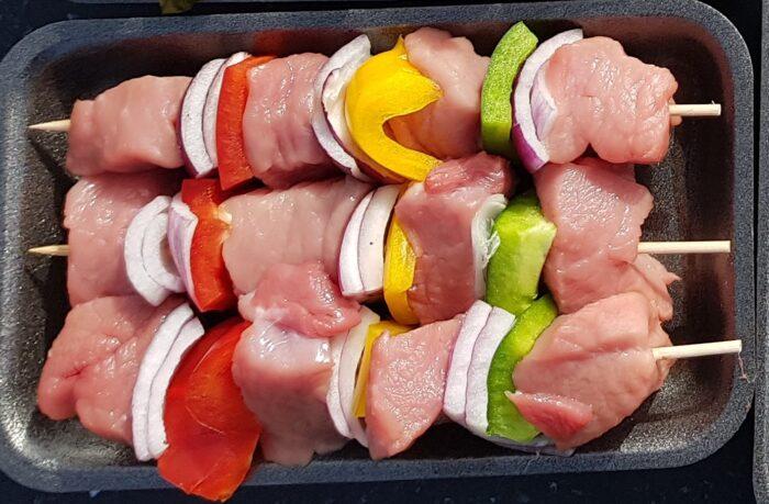 Organic Pork Kebab