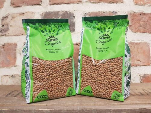 Suma Organic Brown Lentils