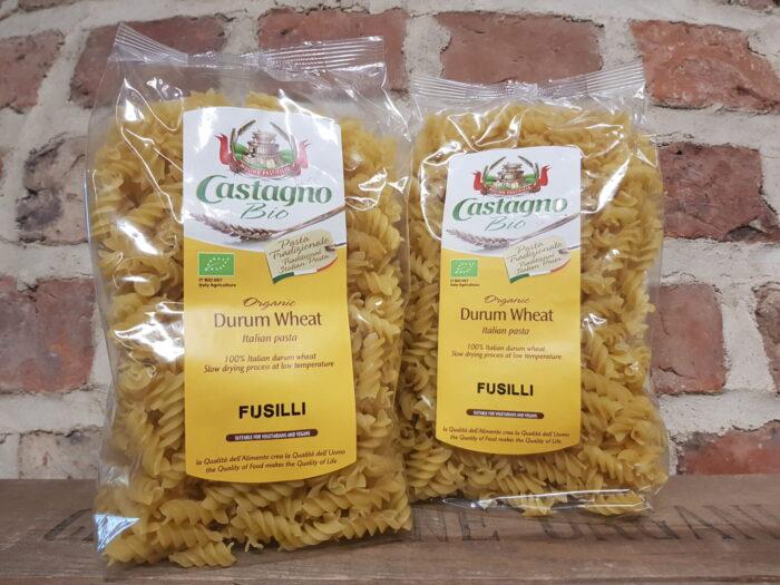 Castagno Organic Durum Wheat Fusilli