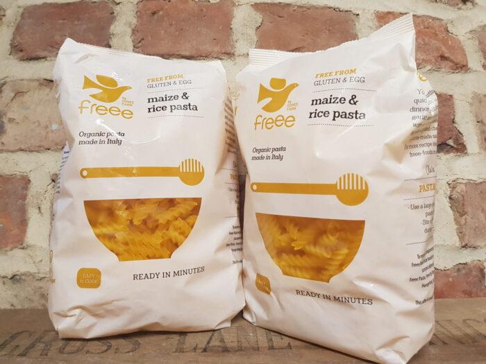 Doves Farm Freee Maize Rice Pasta