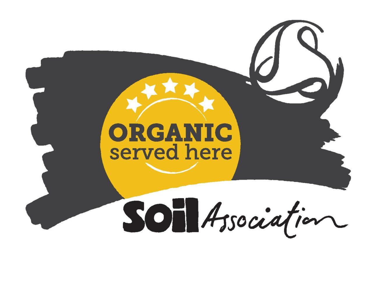 Organic Served Here Soil Association