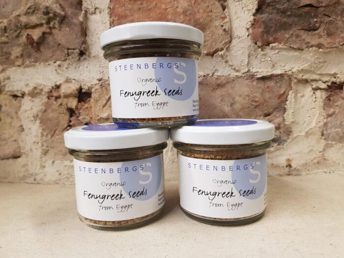 Steenbergs Organic Fenugreek Seeds