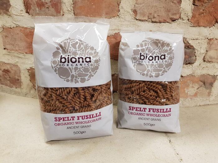 Biona Organic Spelt Fusilli