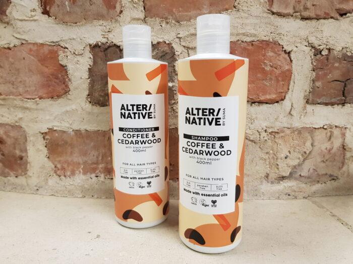 Alternative Coffee & Cedarwood Shampoo