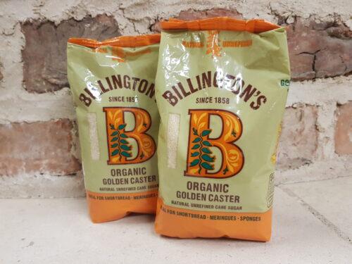 Billingtons Organic Caster Sugar 500g