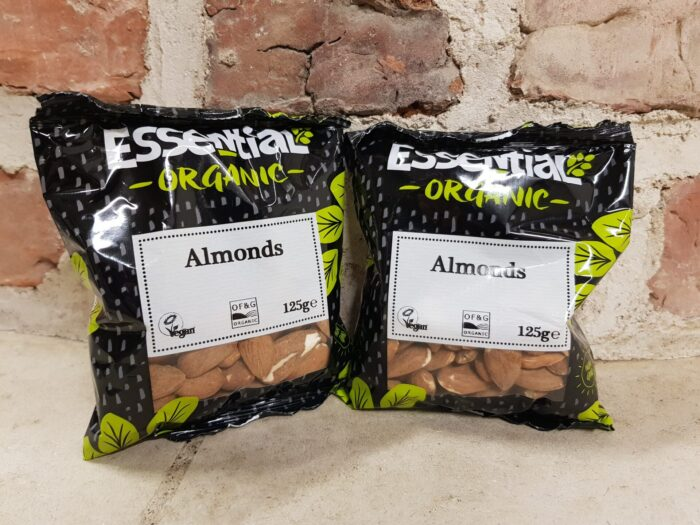 Essentials Organic Almonds 125g