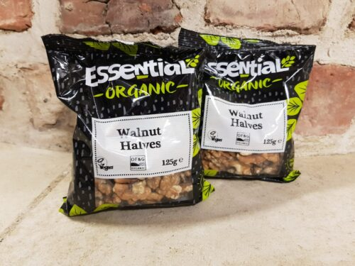 Essentials Organic Walnut Halves 125g