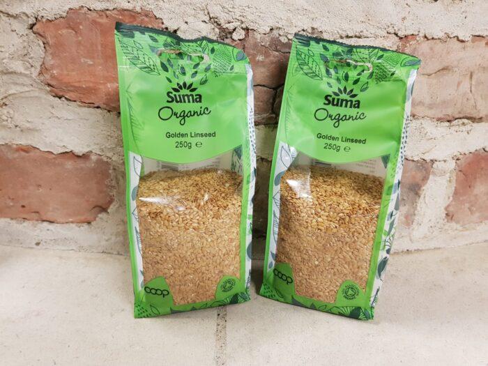 Suma Organic Golden Linseed 250g