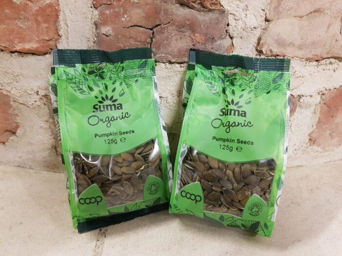 Suma Organic Pumpkin Seeds 125g