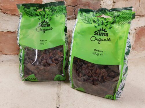 Suma Organic Raisins 250g