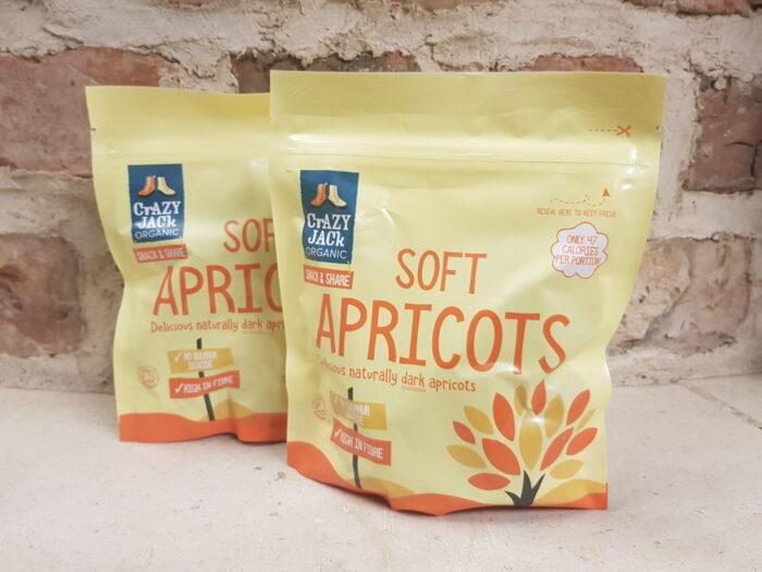Crazy Jack Organic Soft Apricots 200g