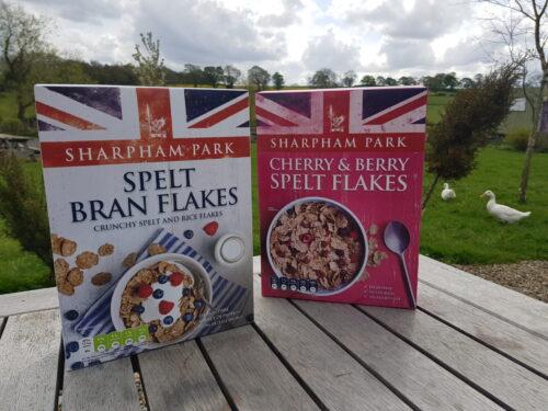 Sharpham Park Spelt Flakes