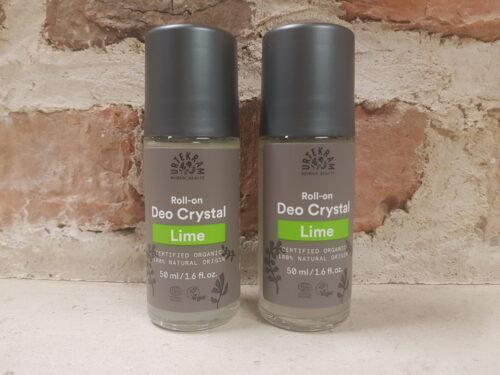 Deodorant Urtekram Lime